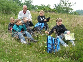 Familie- Naturskole i sommerferien