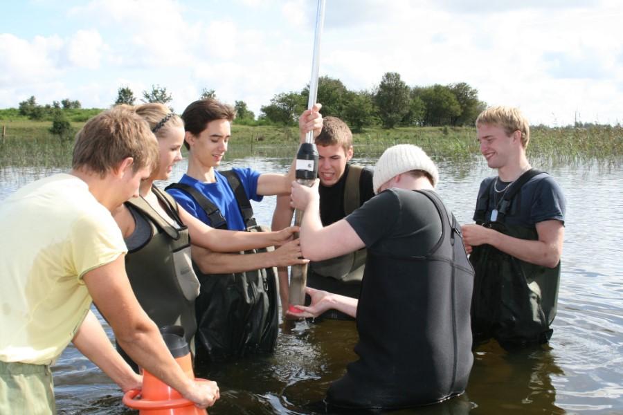 Undervisning i Vilsted sø