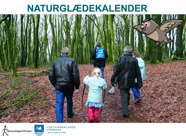 Forsiden af naturkalenderen