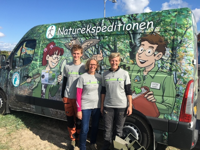 Naturbussen ved Hvalpsund