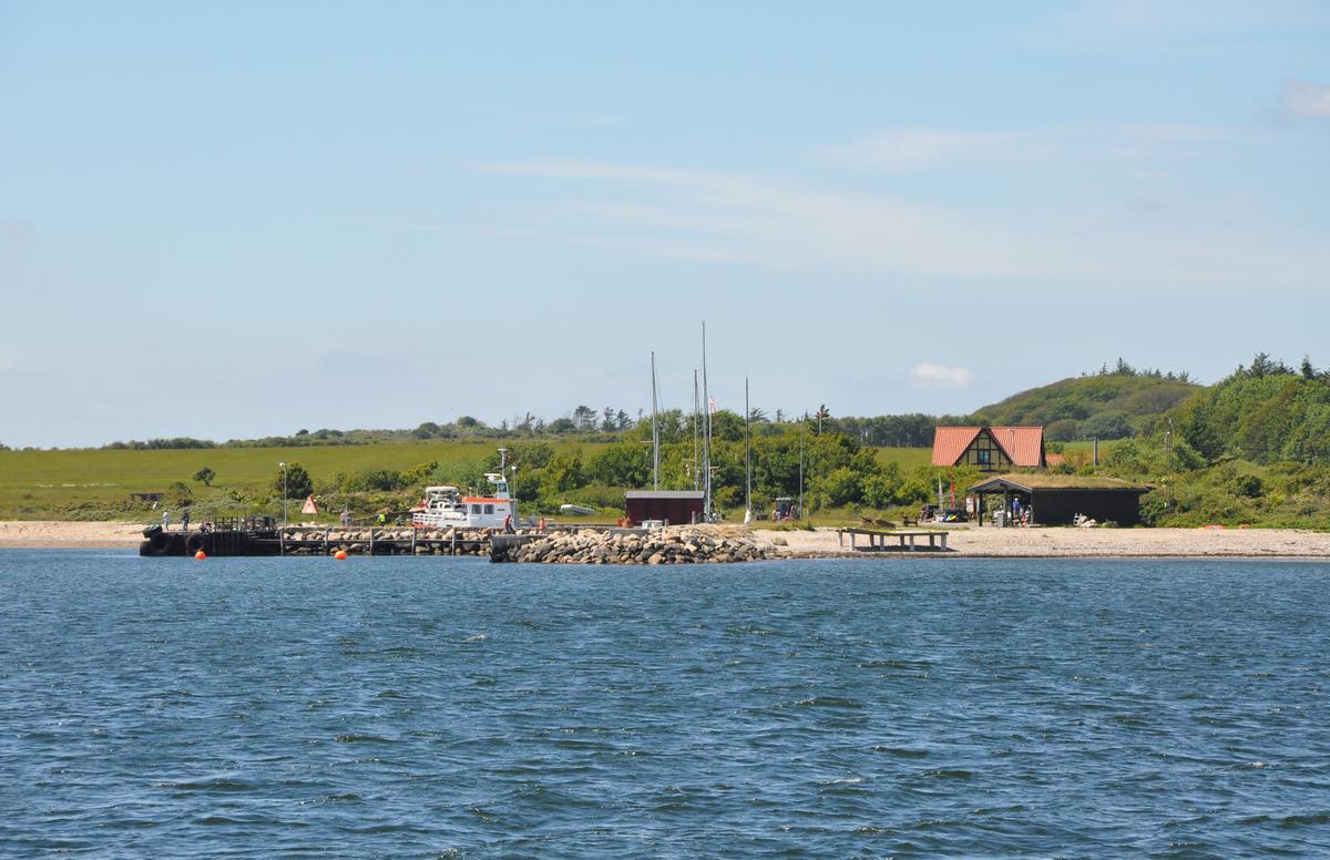 Havnen på Livø