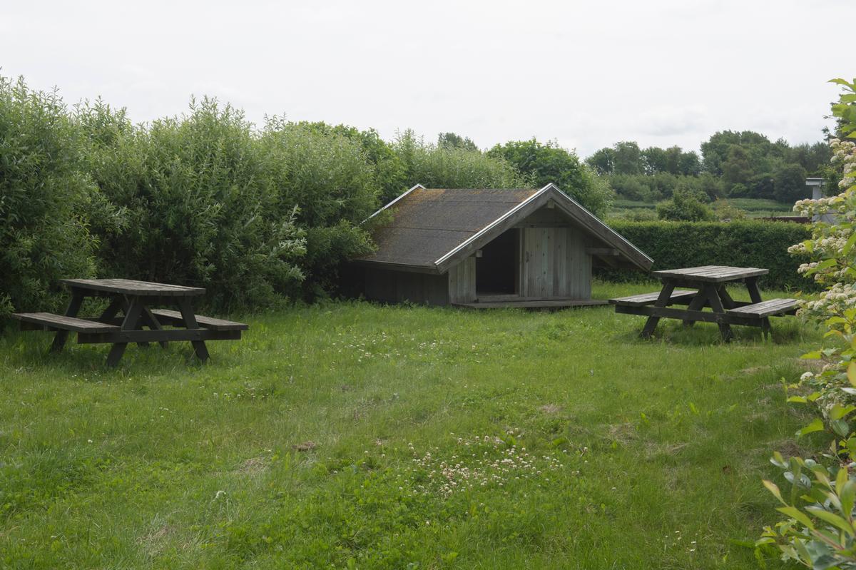 Shelterpladsen ved Aggersundbroen