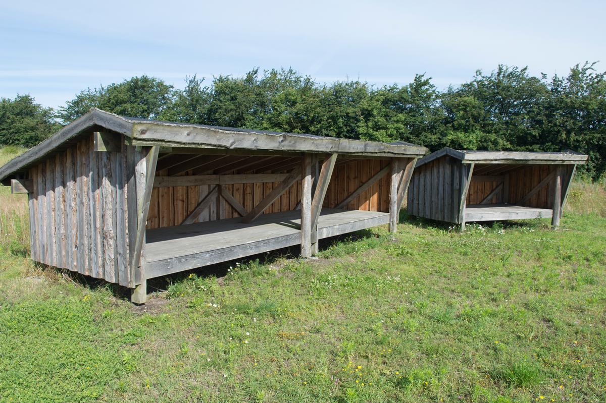 Shelters ved Vester Ørbæk